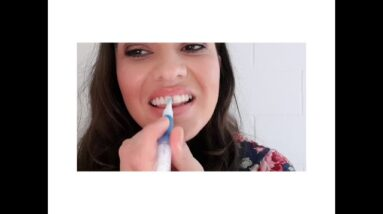 NT National Finalist Rebecca Dowling - Video Challenge #7 Snow Teeth Whitening Routine