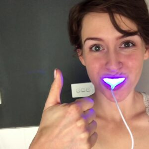 VIC National Finalist Ashleigh Dittman - Video Challenge #7 Snow Teeth Whitening Routine