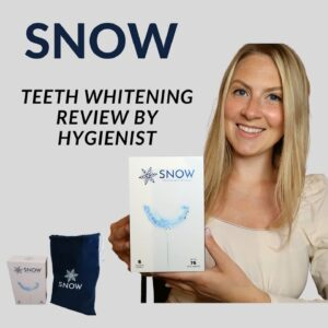 SNOW TEETH WHITENING REVIEW BY HYGIENIST: DOES IT WORK?! CELEBRITY PROMOTED