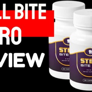 Steel Bite Pro Review 2020 - STEEL BITE PRO SUPPLEMENT SCAM ALERT!!