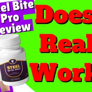 Steel Bite Pro Review | Does it Really Works? 👉Watch the Truth in this Honest Steel Bite Pro Review